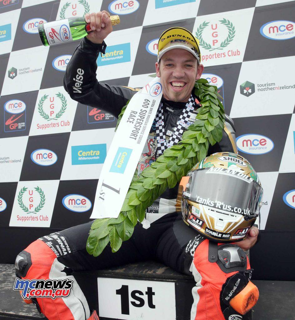 Ulster GP Peter Hickman Winner Supersport