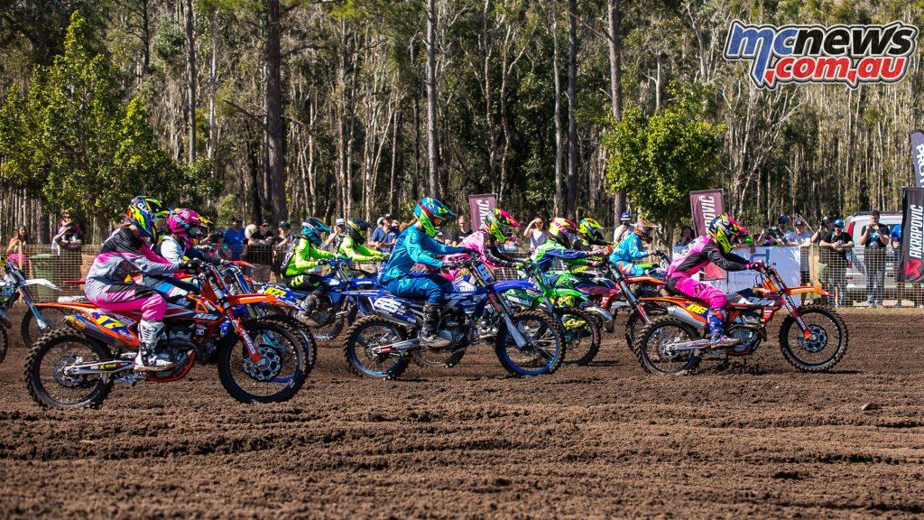 mx nationals coolum round mxw start moto ImageScottYa