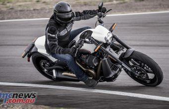 Harley Davidson FXDR Riding shot
