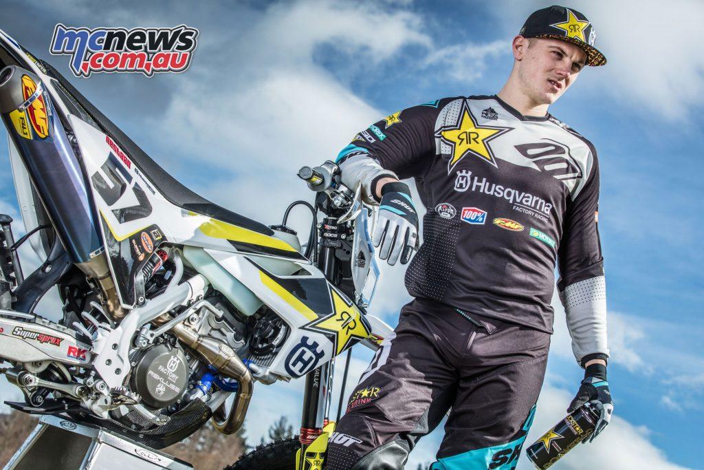Billy Bolt Husqvarna Factory Racing