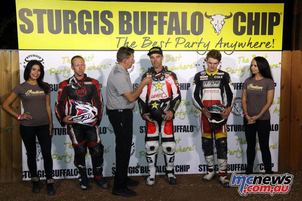 Buffalo Chip TT AFT Singles Podium FA