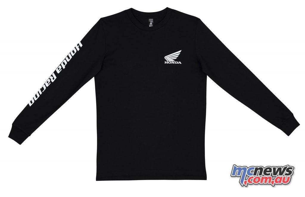 Honda Racing Long Sleeve T Shirt LLSHR