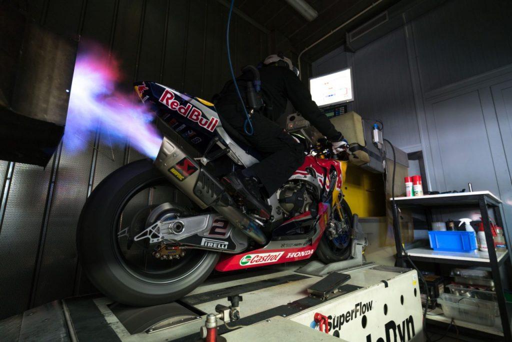Honda WorldSBK Dyno Motorcycle