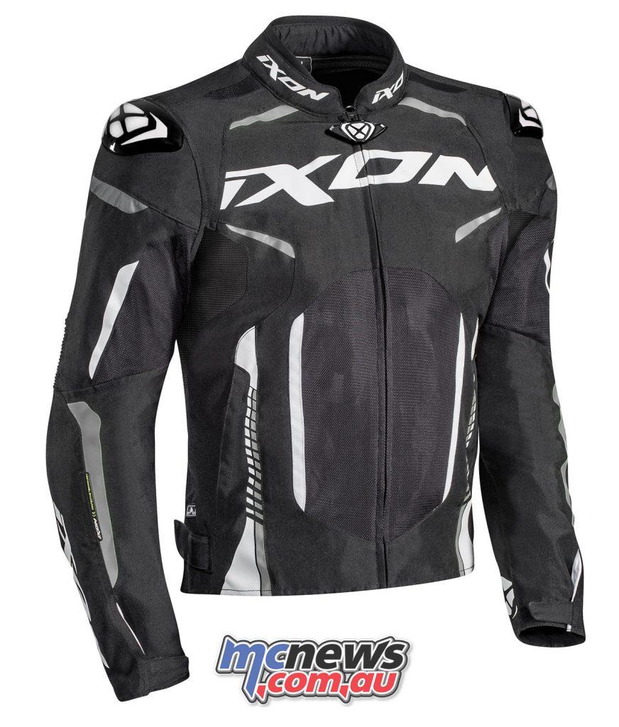 Ixon Jacket Gyre noir blanc face