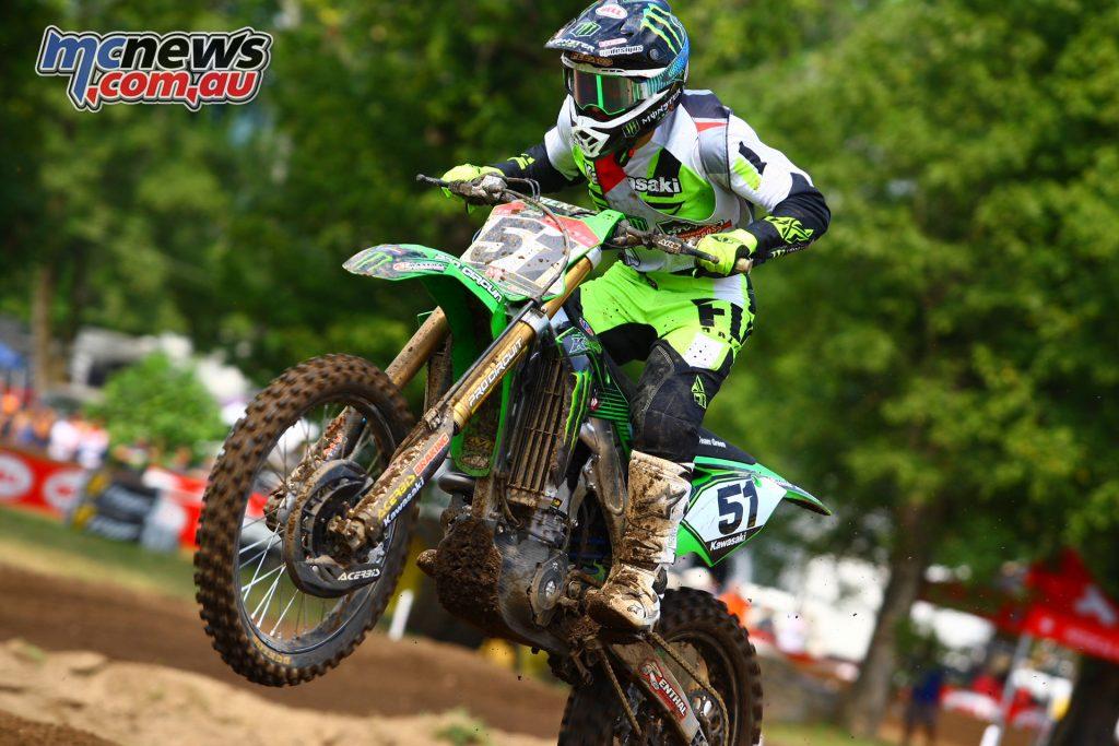 Loretta Lynns MX Kawasaki Team Green K