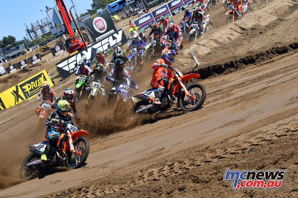MXGP Rnd Belgium Cairoli Herlings start