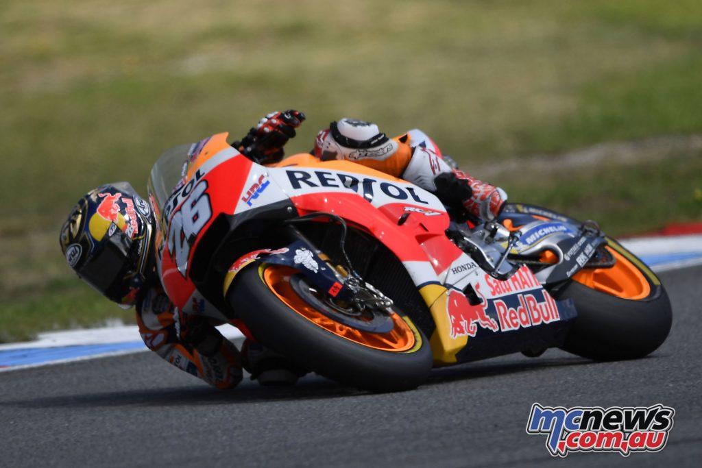MotoGP Brno Test Aug Dani Pedrosa