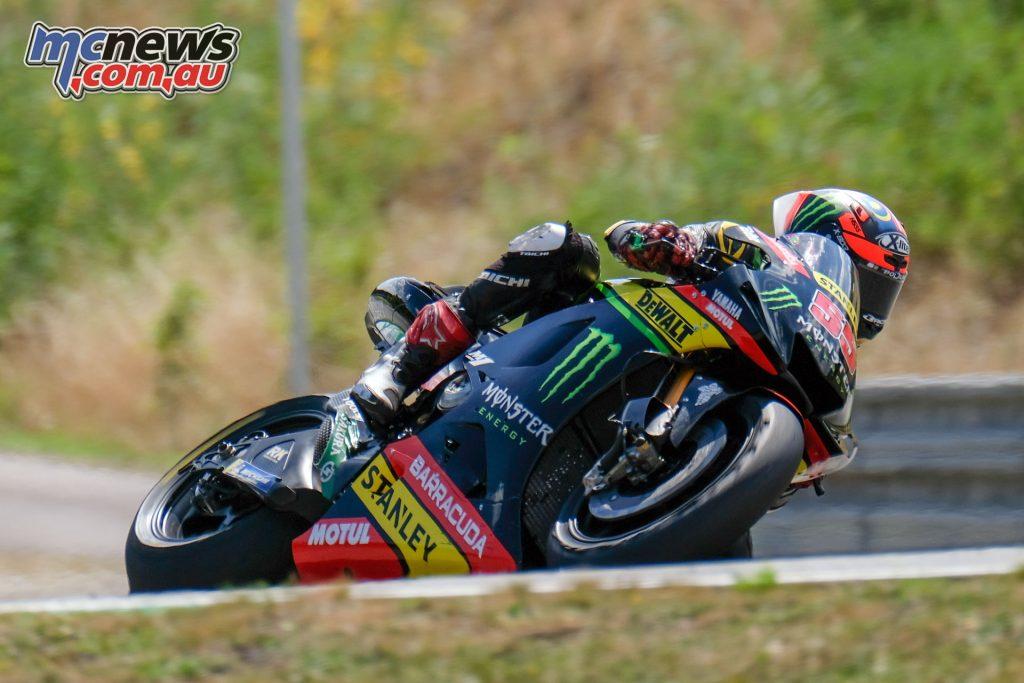MotoGP Brno Test Aug Syahrin Brno