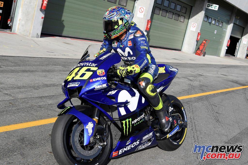 MotoGP Brno Test Aug Valentino Rossi