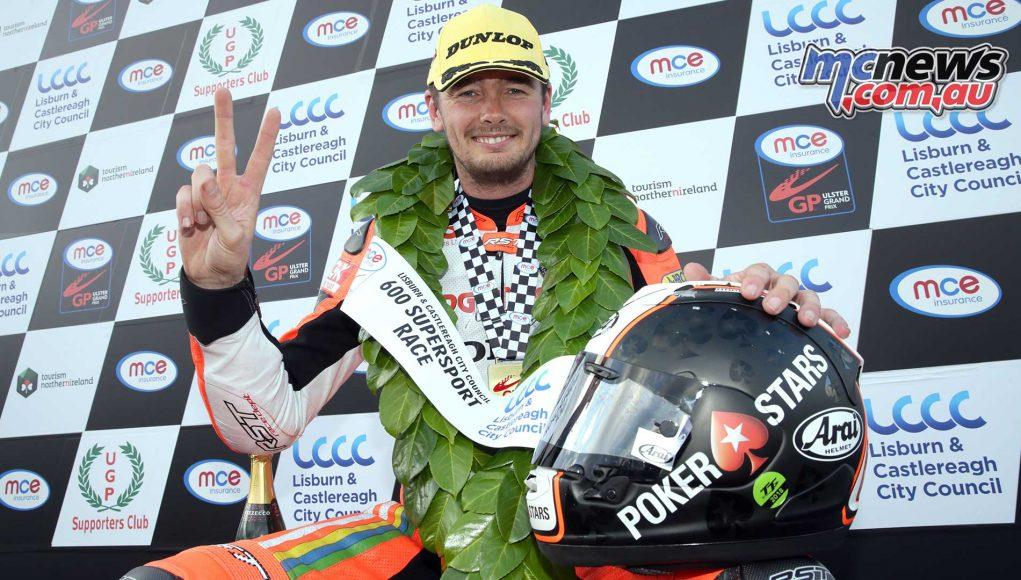Ulster Grand Prix Supersport Conor Cummins