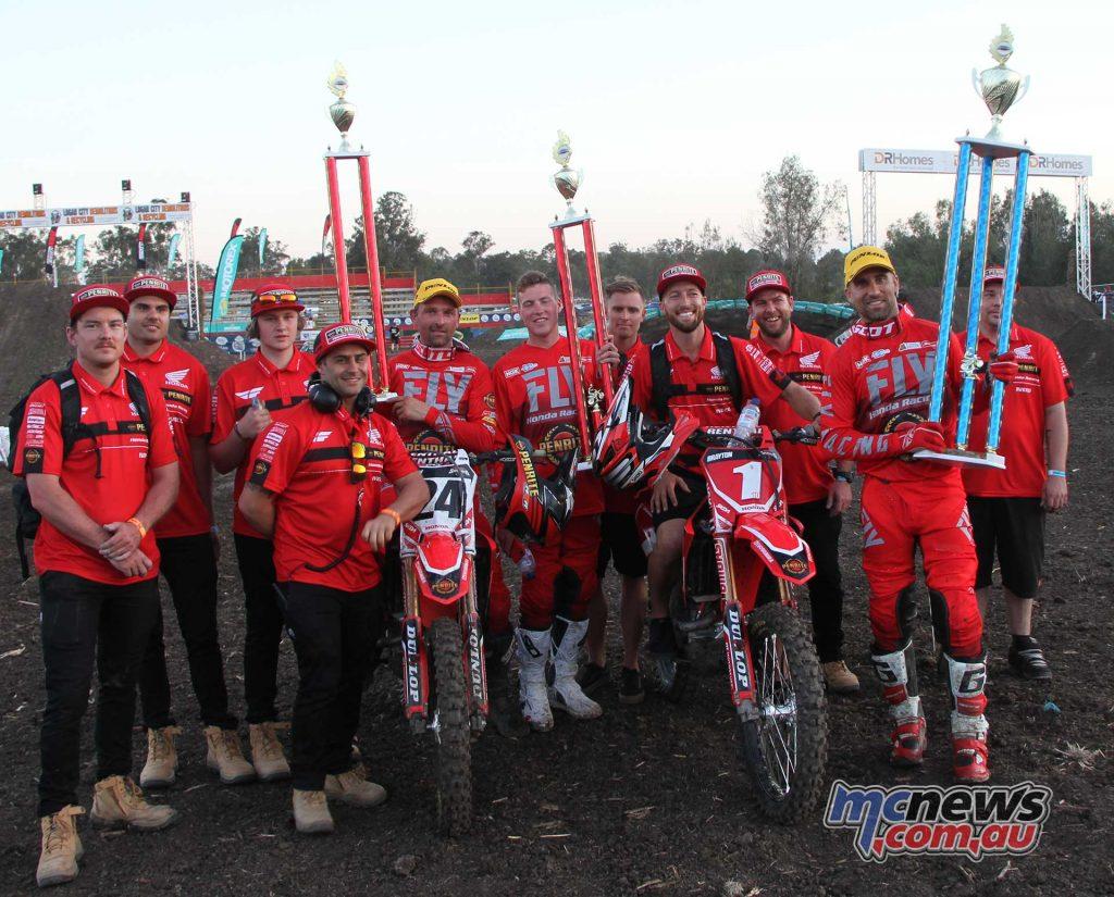Australian SX Rnd Jimboomba Brayton Metcalfe Team