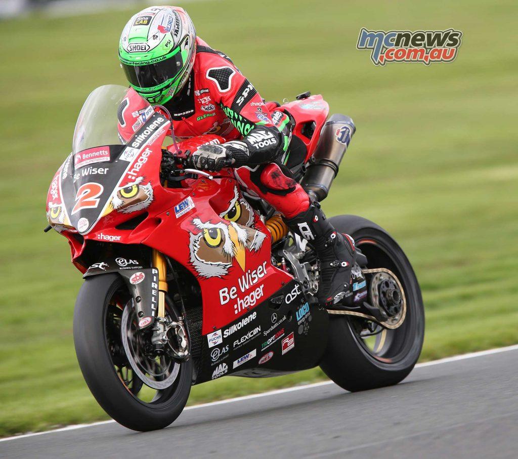 BSB Showdown Oulton Park Superbike Glenn Irwin ImageDyeomans