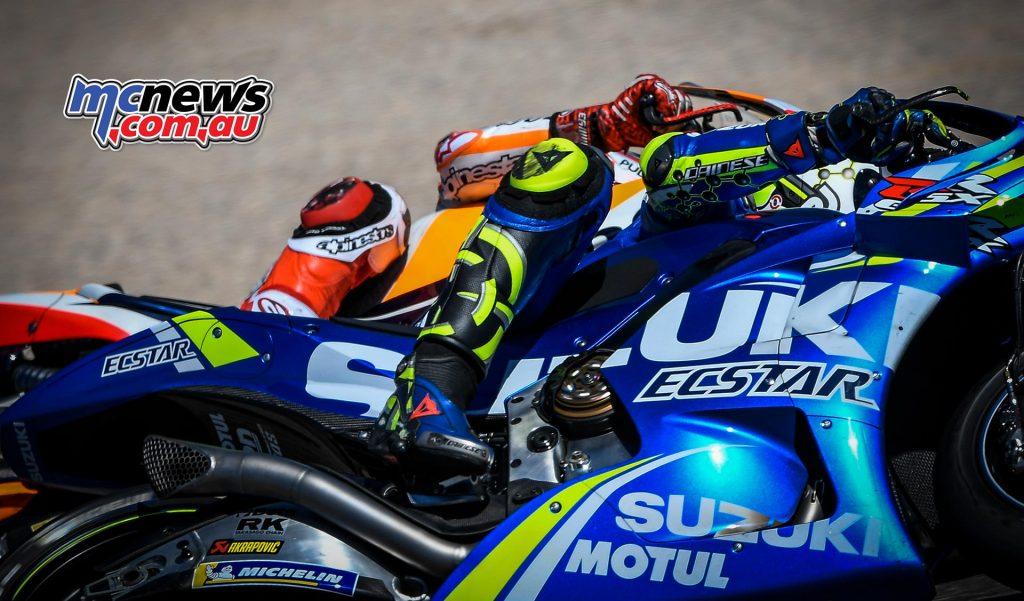 MotoGP Aragon Iannone Marquez