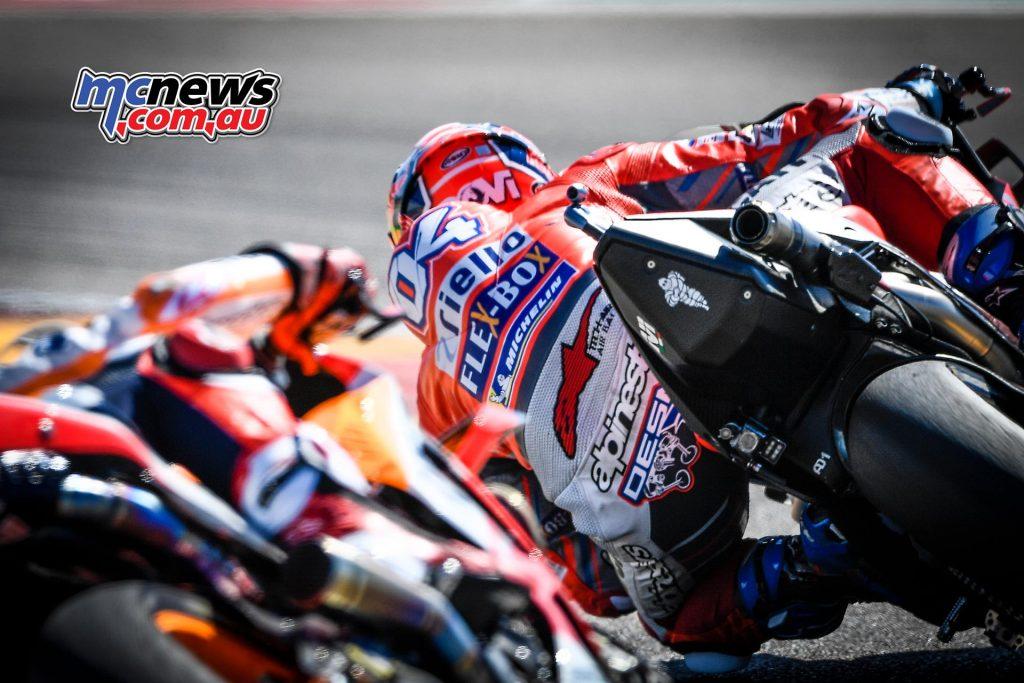 MotoGP Aragon Marquez Dovizioso