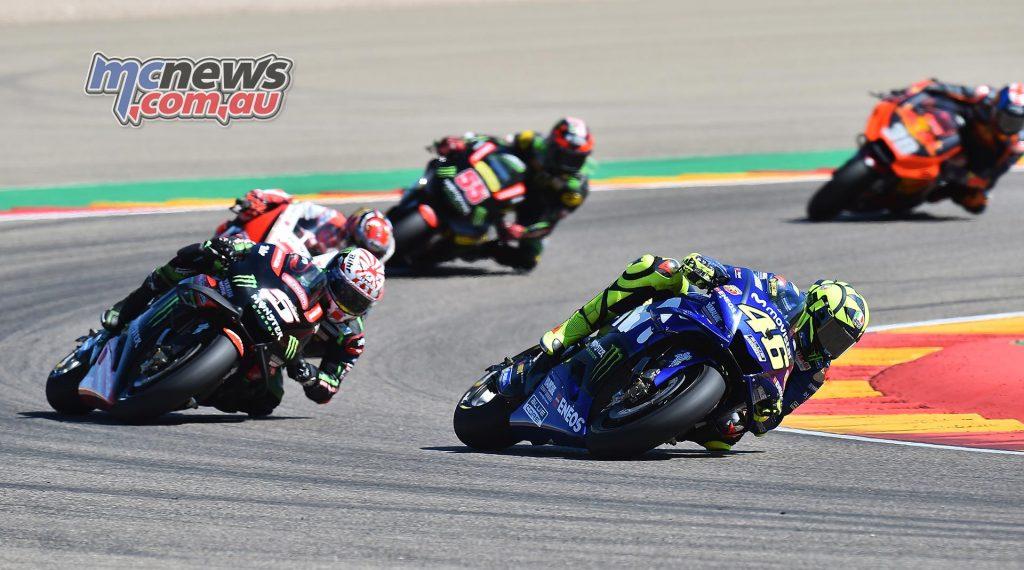 MotoGP Aragon Mich Rossi Zarco Nakagami