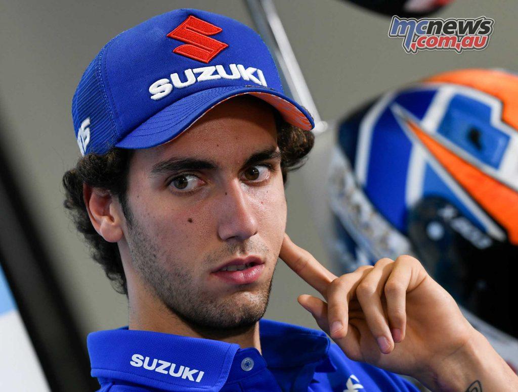 MotoGP Aragon Presser Alex Rins