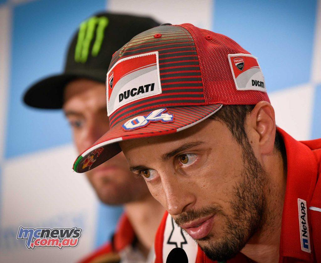 MotoGP Aragon Presser Dovizioso