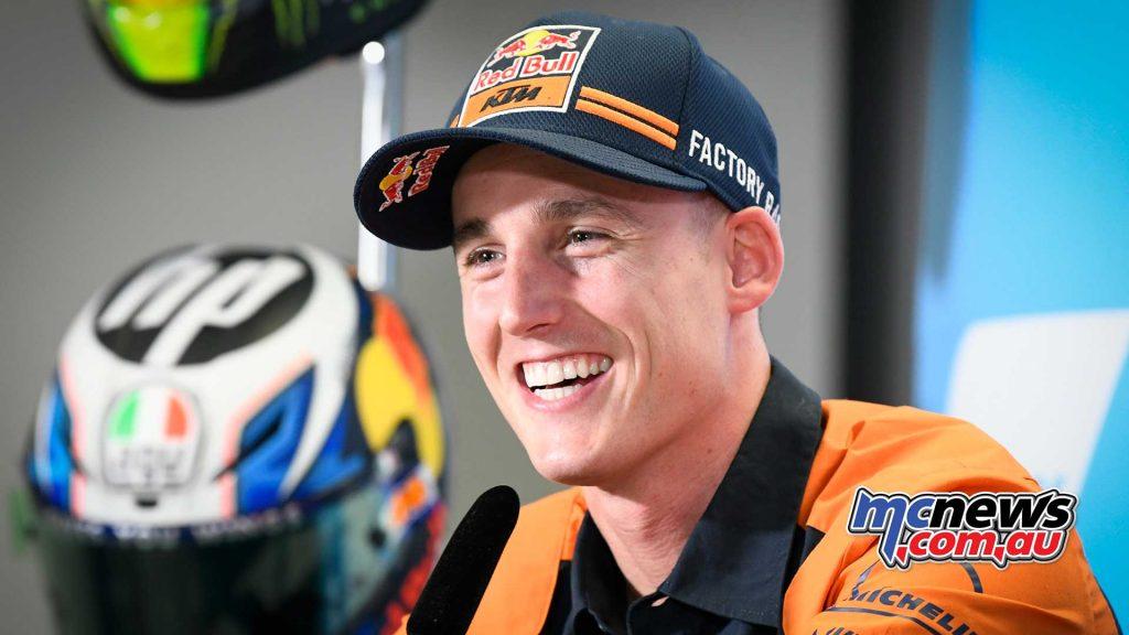 MotoGP Aragon Presser Pol Espargaro