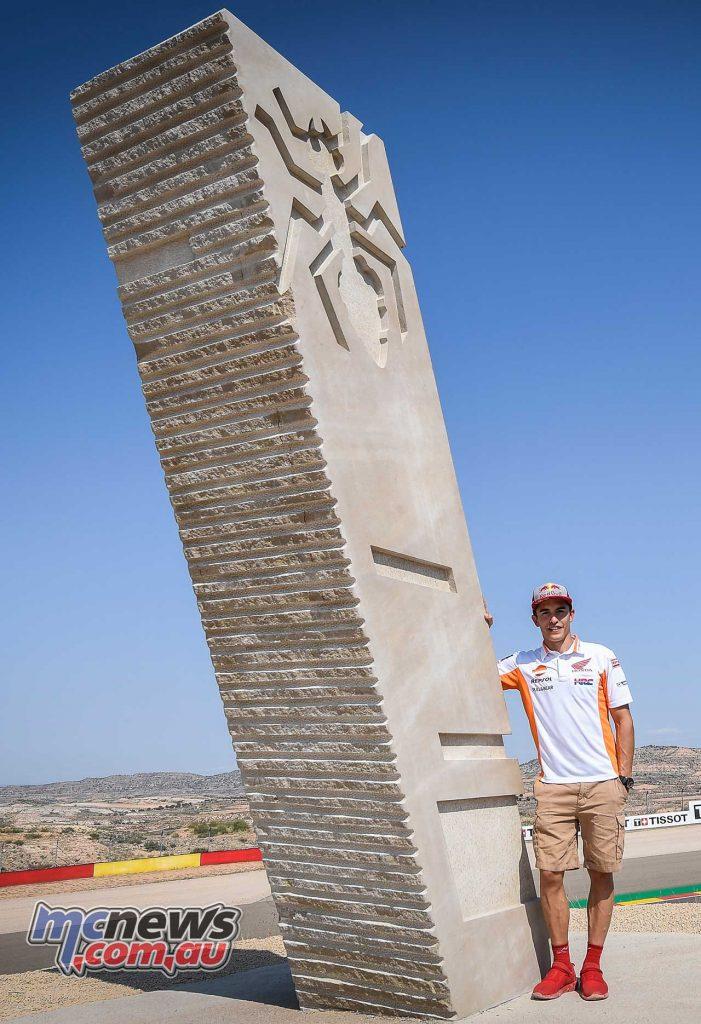 MotoGP Aragon Turn Marquez