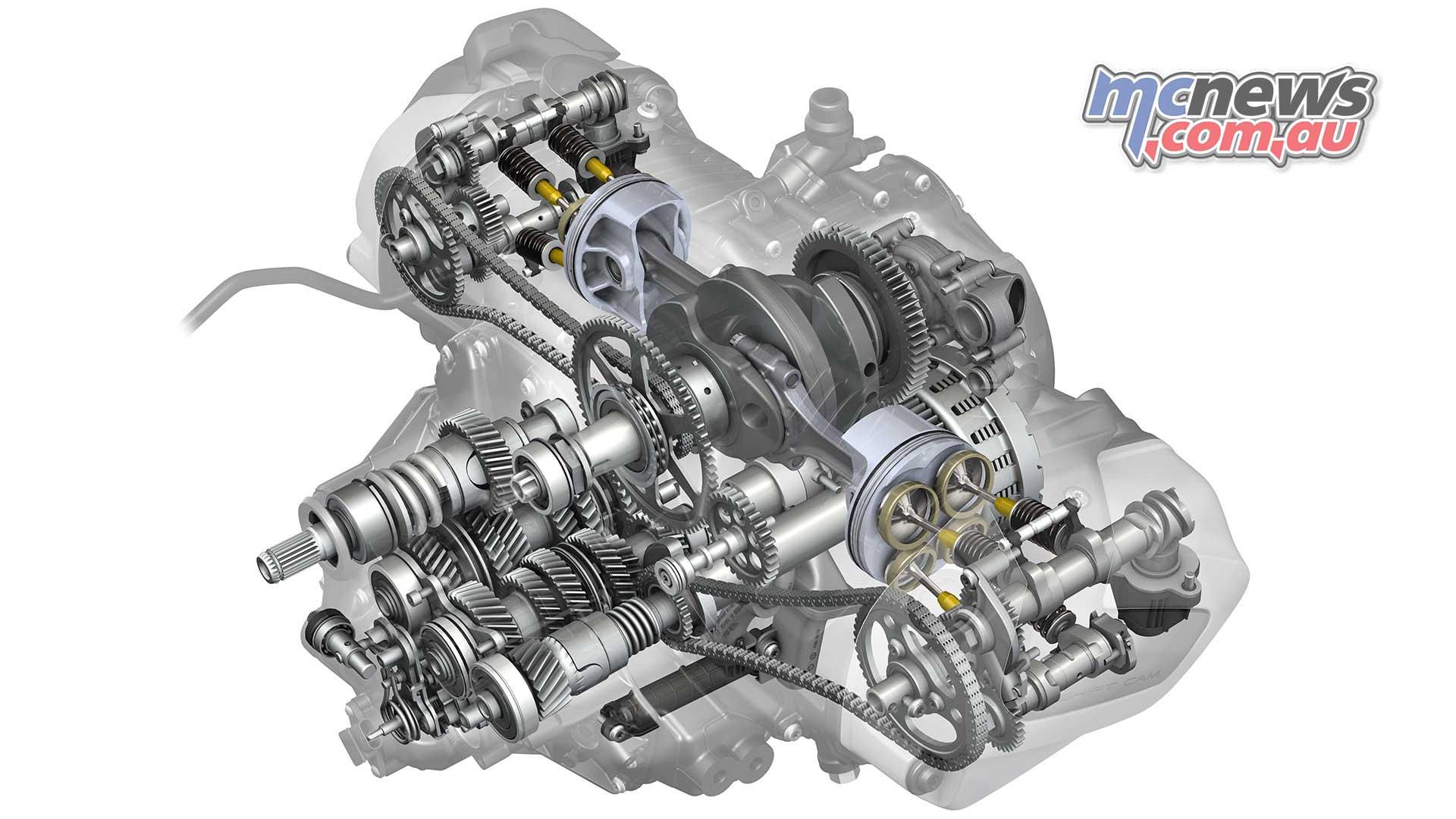 New 1254cc Bmw Boxer Engine 14 More Torque Double Overhead Cam Diagram Rgs Rt Technical Head