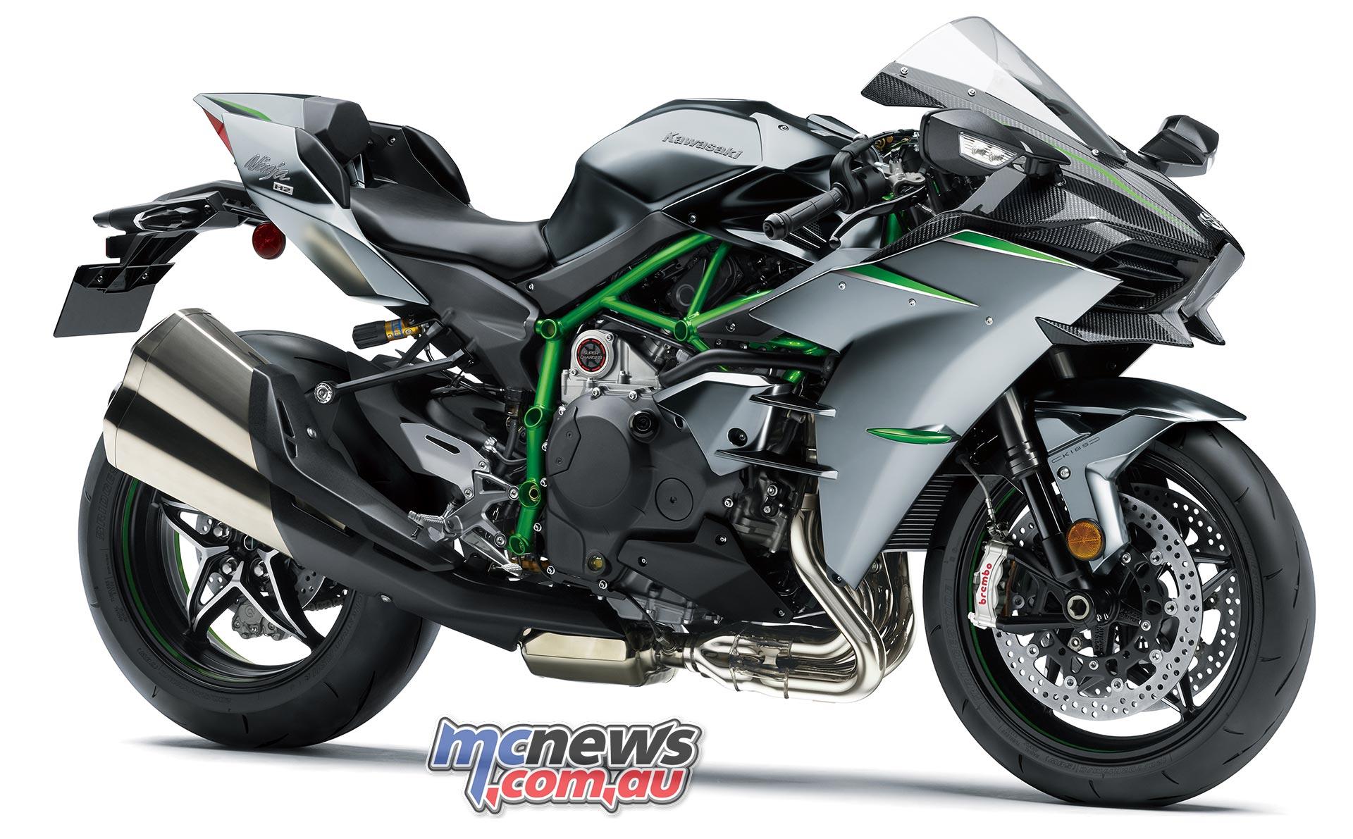 Kawasaki H2 gains 30 hp for MY 2019   Now 228 hp   MCNews ...