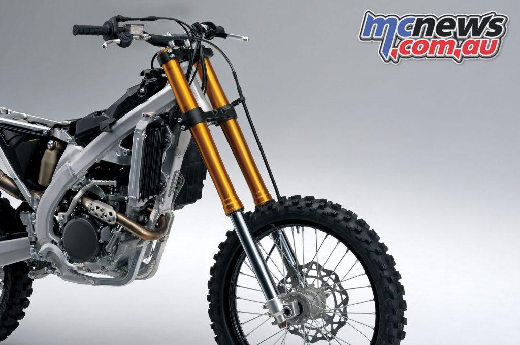 Suzuki RM ZL front suspension