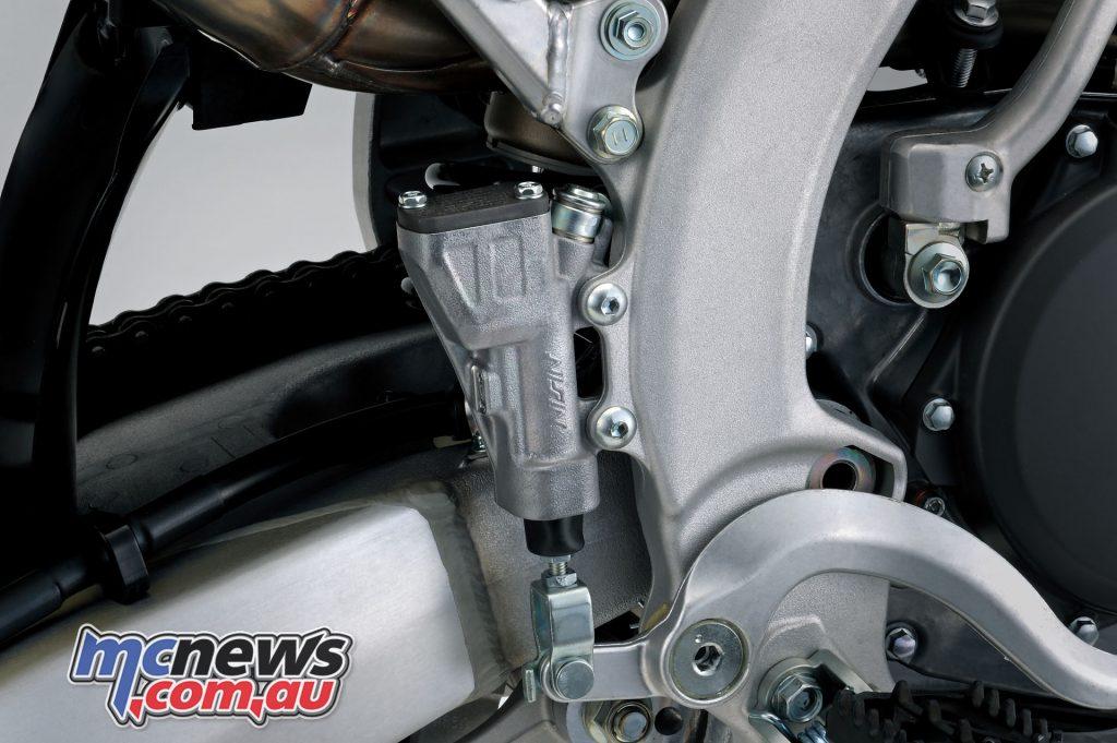 Suzuki RM ZL rear master cylinder