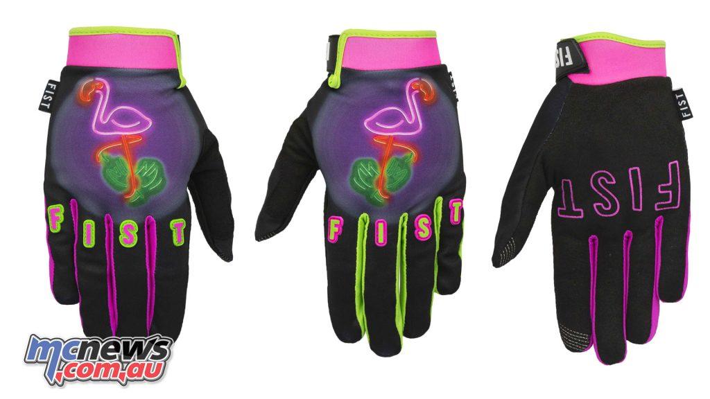 Fist Handwear Flaminglow Left