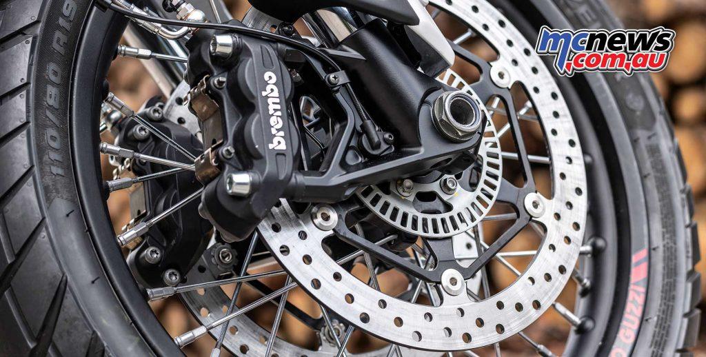 Moto Guzzi V TT Brakes