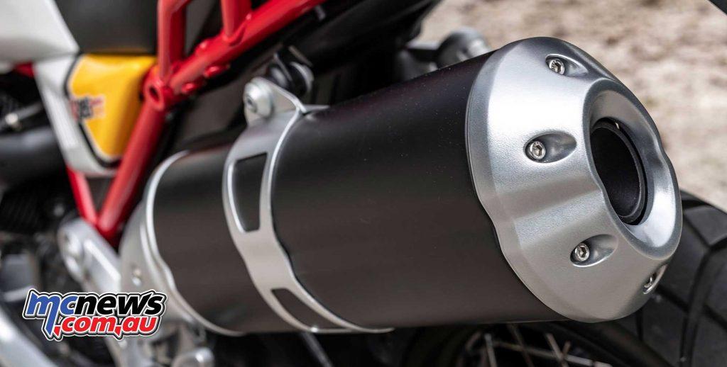 Moto Guzzi V TT Muffler
