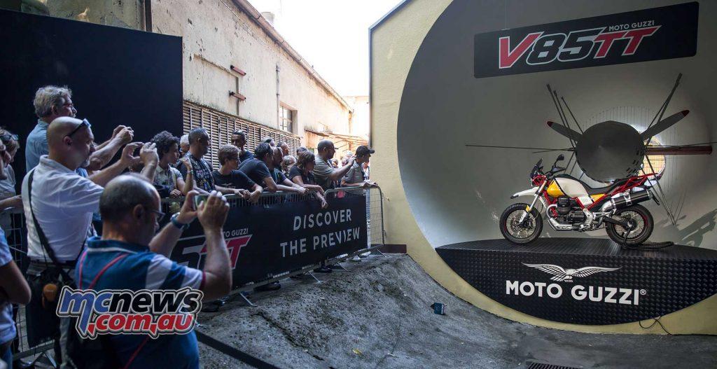 Moto Guzzi V TT Reveal