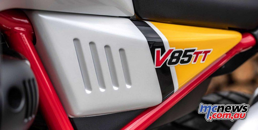 Moto Guzzi V TT SideCover
