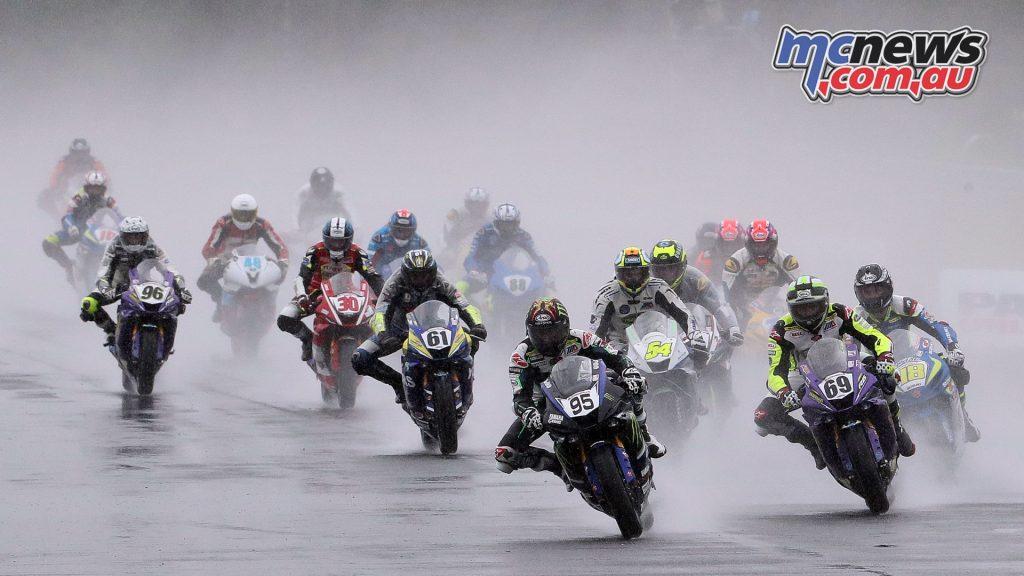 MotoAmerica Round Supersport NJMP Sunday