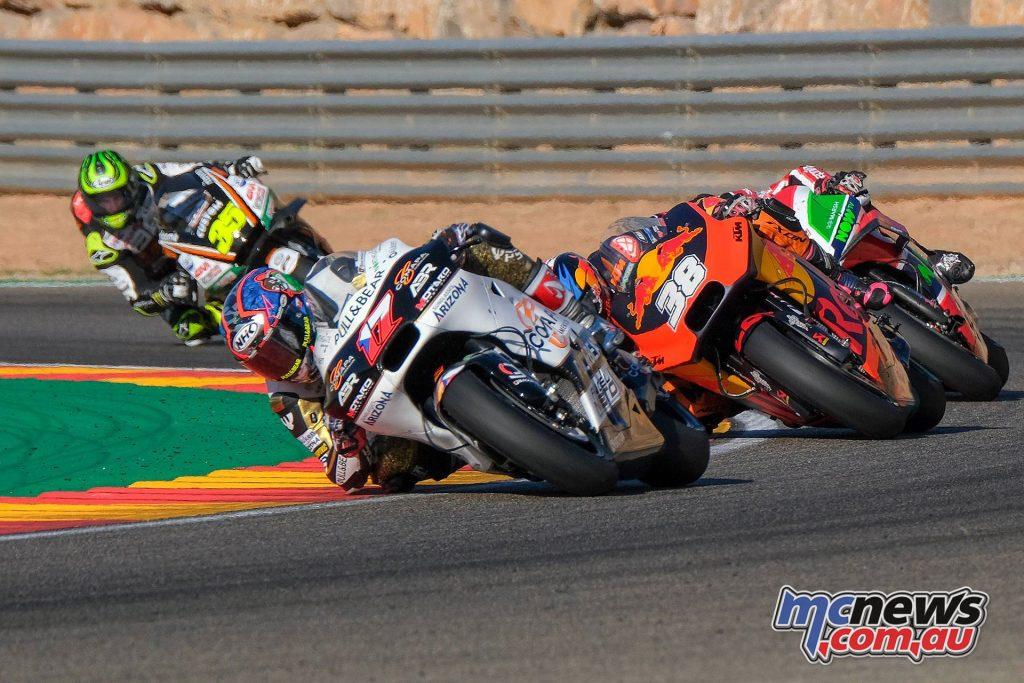 MotoGP Aragaon Rnd Abraham
