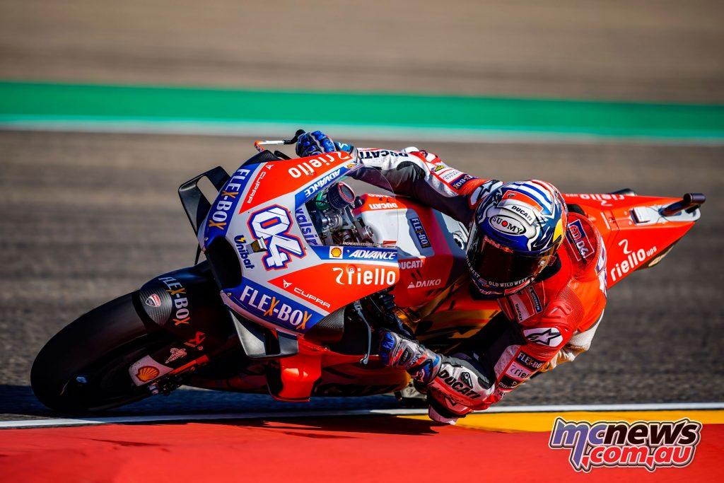 MotoGP Aragaon Rnd Fri Andrea Dovizioso AX