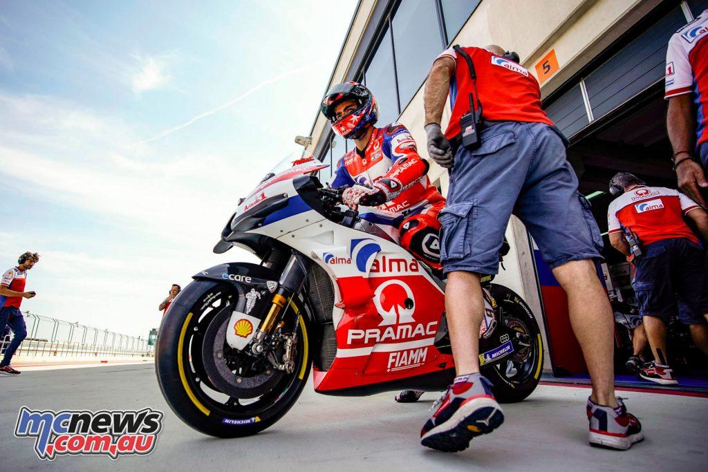 MotoGP Aragaon Rnd Fri Danilo Petrucci AX