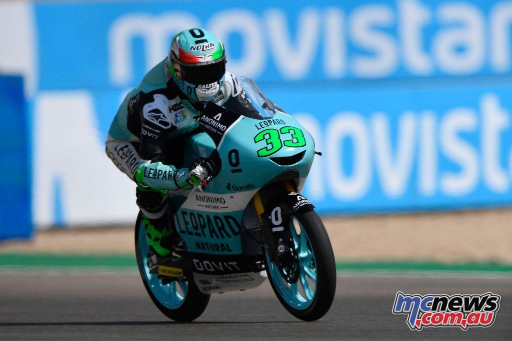 MotoGP Aragaon Rnd Fri Moto Bastianini