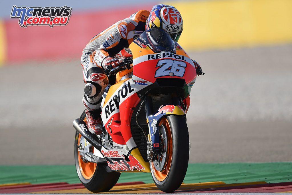 MotoGP Aragaon Rnd Fri dani pedrosa