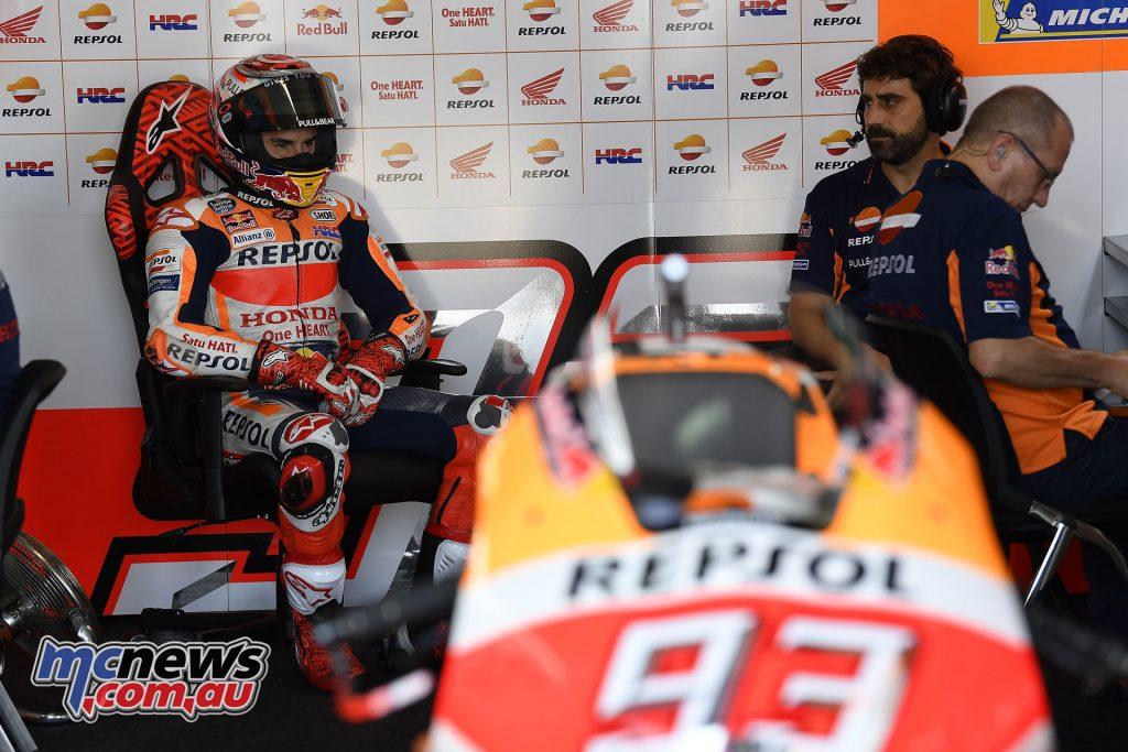 MotoGP Aragaon Rnd Fri marc marquez