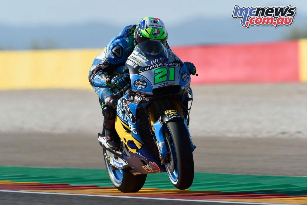 MotoGP Aragaon Rnd Morbidelli gh
