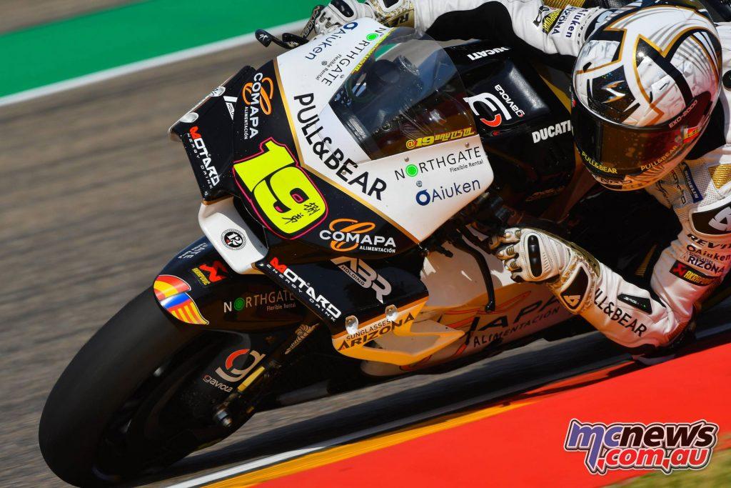 MotoGP Aragaon Rnd Sat Alvaro Bautista