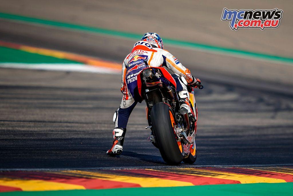 MotoGP Aragaon Rnd Sat Dani Pedrosa