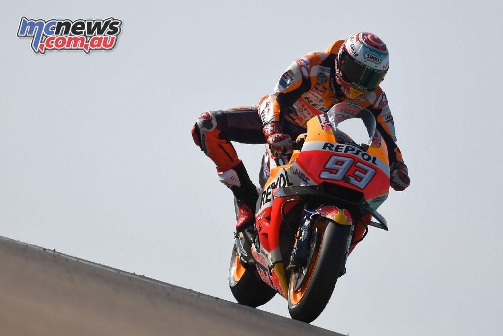 MotoGP Aragaon Rnd Sat Marc Marquez
