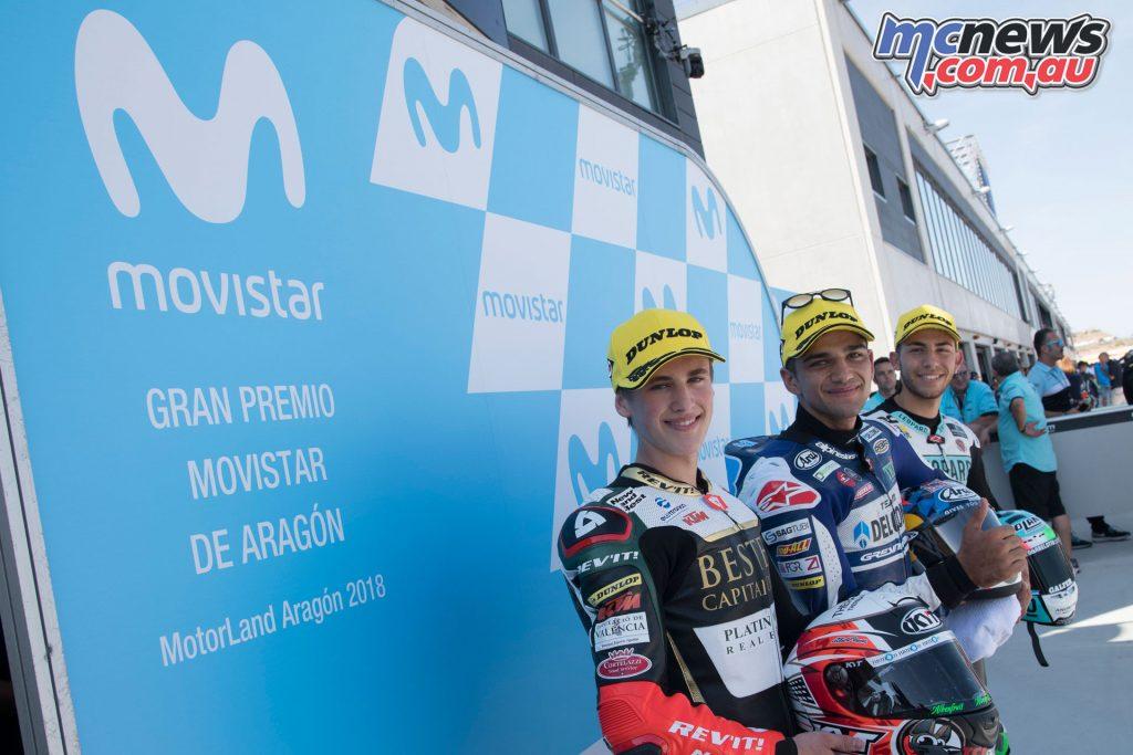 MotoGP Aragaon Rnd Sat Moto Qual