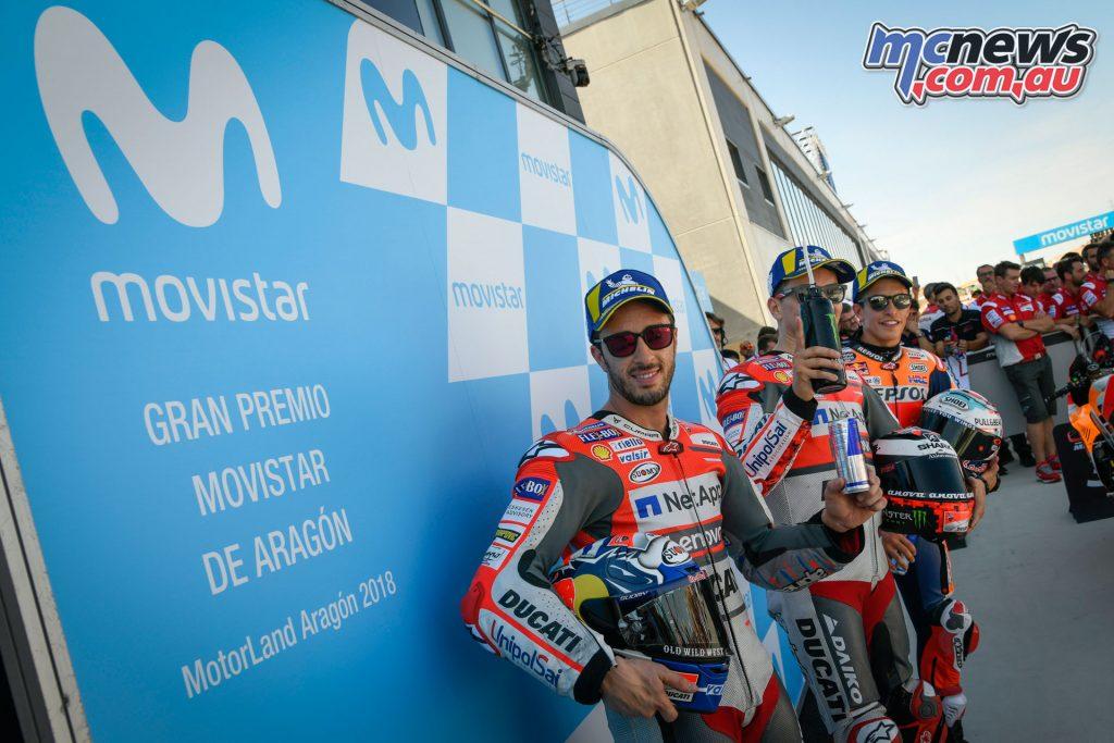 MotoGP Aragaon Rnd Sat MotoGP Qual