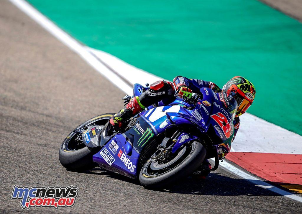 MotoGP Aragaon Rnd Vinales
