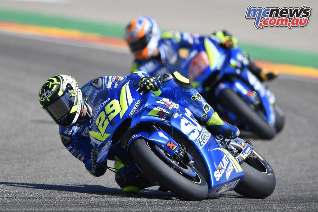 MotoGP Aragaon Rnd andrea iannoner