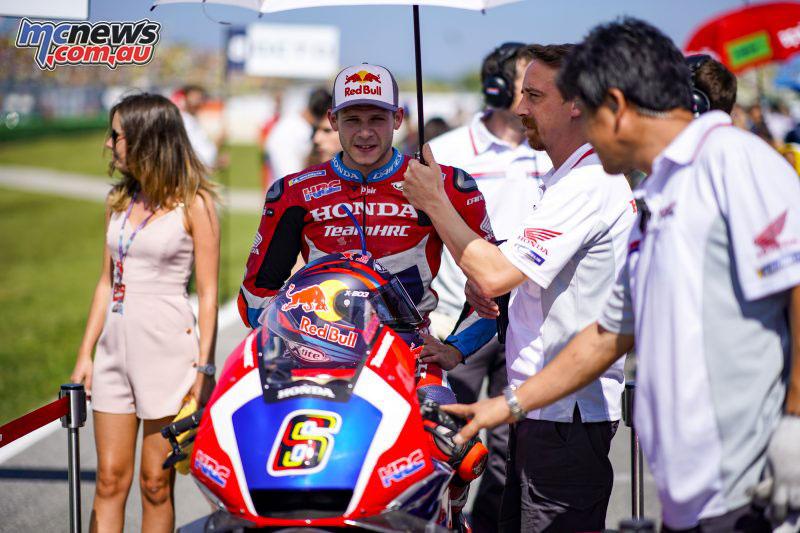 MotoGP Rnd Misano Bradl