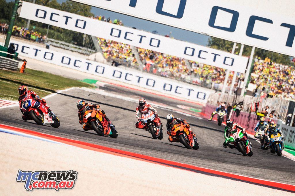 MotoGP Rnd Misano Bradley Smith Pol Espargaro