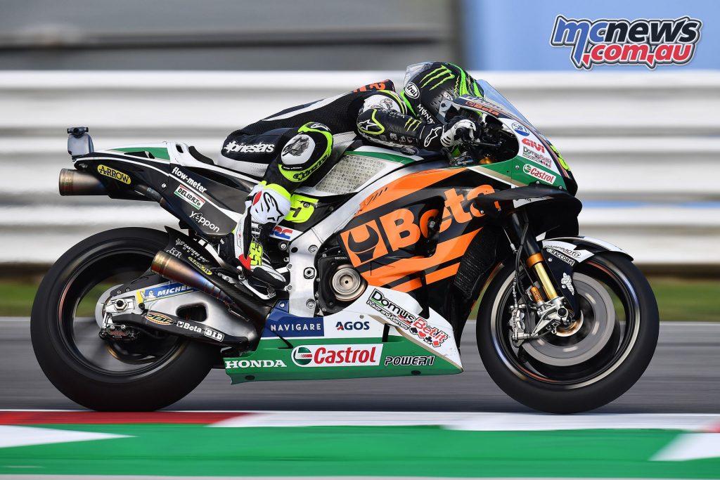 MotoGP Rnd Misano Cal Crutchlow